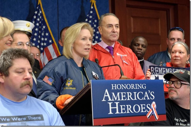 Gillibrand 9 11 Heroes