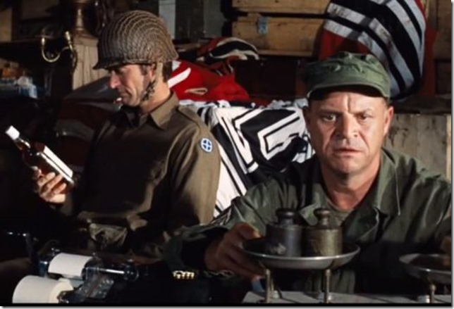 Rickles Kelly's Heroes Eastwood Rickles