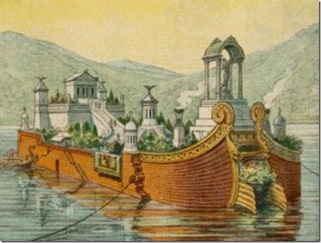 Caligula Pleasure Ship via Washington Post