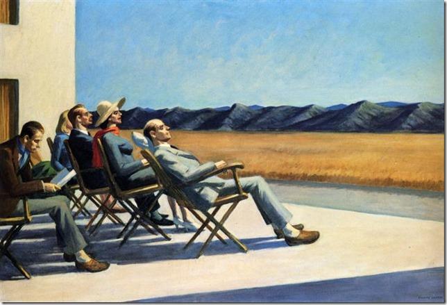 Hopper People in the Sun WikiArt