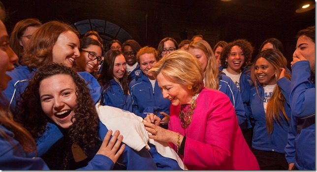 HRC With Wellesley crew