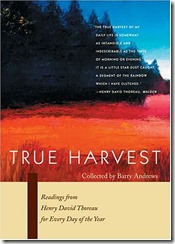 Cover True Harvest Thoreau