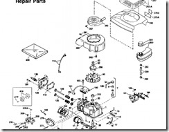 Lawn Mower manual parts