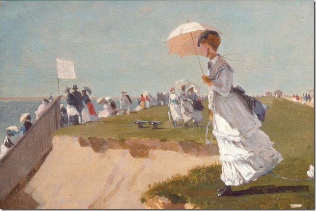 Painting Long Branch Winslow Homer MFA