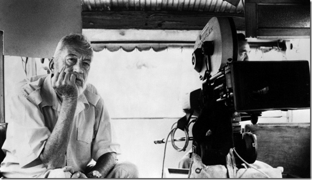 Huston John Huston directing TMWBK