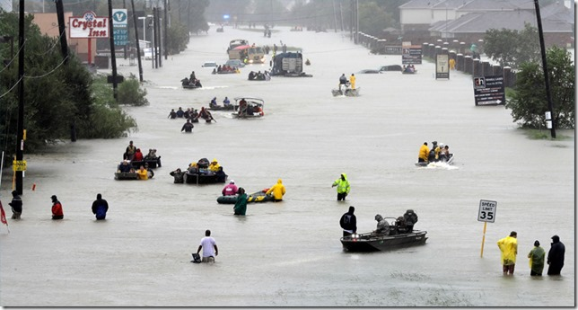 Hurricane Harvey Neighborhood Rescue Boats David J Phillip AP via 10tv