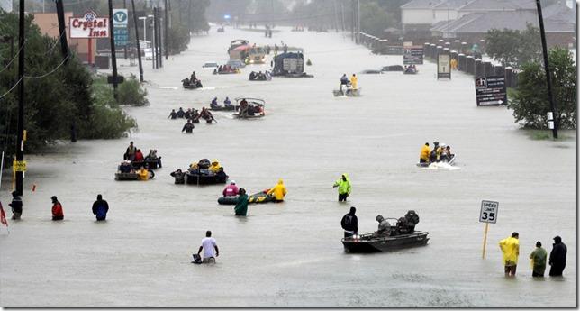 Hurricane Harvey Neighborhood Rescue Boats David J Phillip AP via 10tv