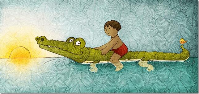 Timor legenda de la crocodile Alexandra Agostinho da Silva
