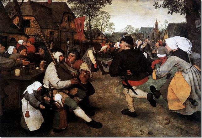 Painting Bruegel The Kermess wikimedia