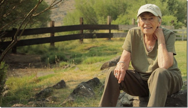 Le Guin My new friend Still from documentary Worlds of Ursula K Le Guin via B and N