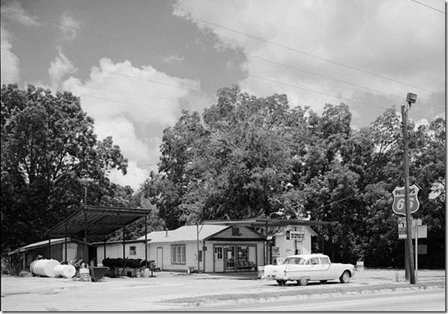 Carter Plains Warehouse Gas Station Library of Congress