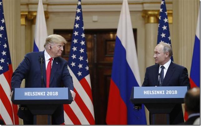 Trump Isnt that right Vlad Trump Putin Helsinki Summit AP Photo Alexander Zemblianichenko via Newser