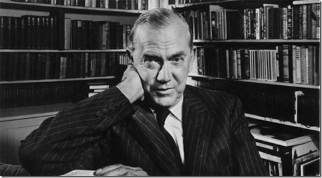 Graham Greene author photo via Paris Review