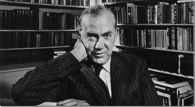 Graham Greene author photo via Paris Review