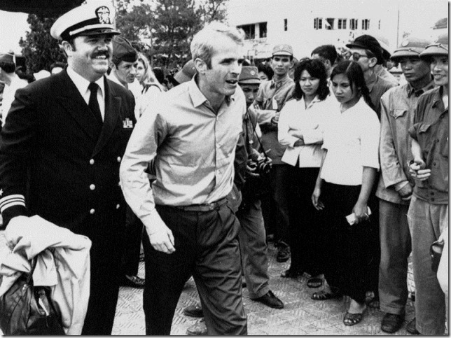 McCain Headed for home John McCain no longer a POW Horst Faas AP via NPR