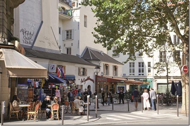 Paris Cafe and Street Scene Latin Quarter Paris Tourist Office Photo by Jacques Lebar via Paris Attitude (2)