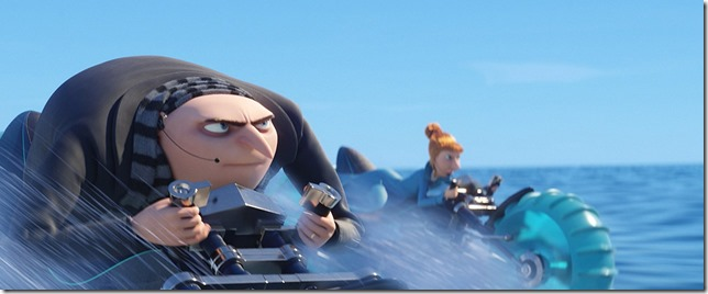 Despicable Me 3 Clear skies ahead Gru and Lucy fly into battle