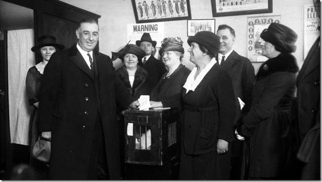 Big Bill Thompson Vote Early Vote Often via Chicago Tribune