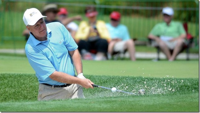 Graham Senator Graham plays golf Delayana Earley Island Packet via The State