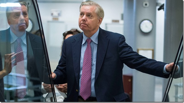 Graham 2 faces of Lindsey Graham  Al Drago CQ Roll Call AP via Mother Jones May 2016