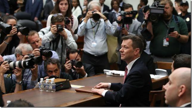 FBI Strzok testifies via the Hill