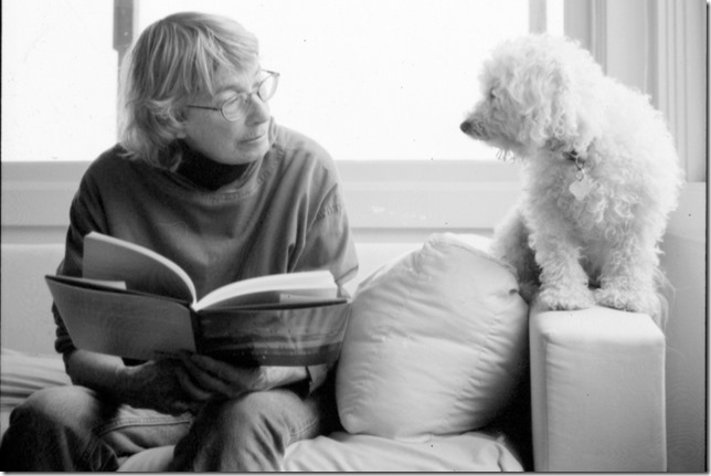 Oliver Mary Oliver reads to friend Rachel Geise Brown Poetry Foundation