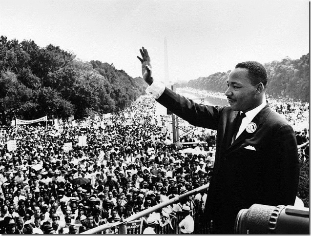 MLK March on Washington August 1963 via Wikimedia