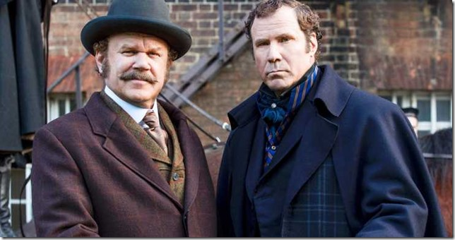 Holmes Holmes and Watson John C Reilly as Dr Watson and Will Farrell as Sherlock Holmes