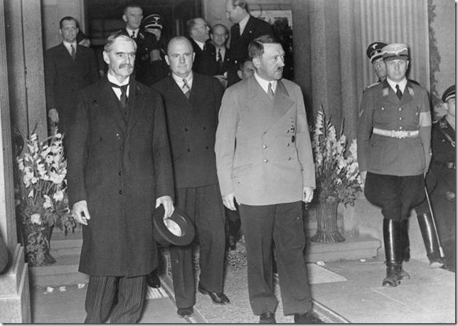 Hitler Munich Chamberlain Hitler Wikipedia Commons via History Info