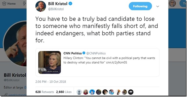 Snip 2018 10 10 Bill Kristol Bad Candidate