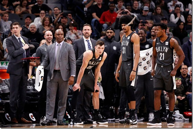NBA Nets Bat Invasion in San Antonio Nets vs Spurs 2019 01 31 Soobum Im USA Today via Washington Post