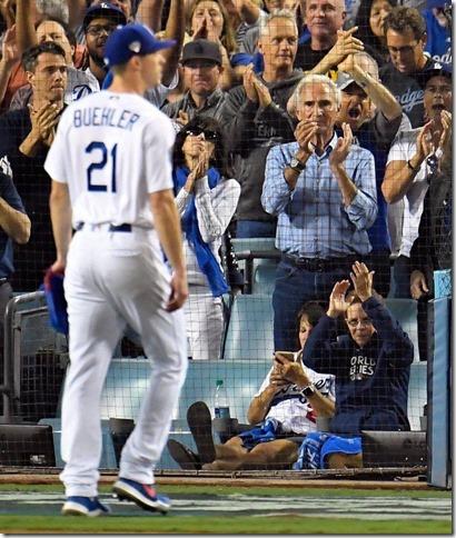 Dodgers 2018 World Series October 27 Buehler and Koufax Kevin Sullivan OC Register