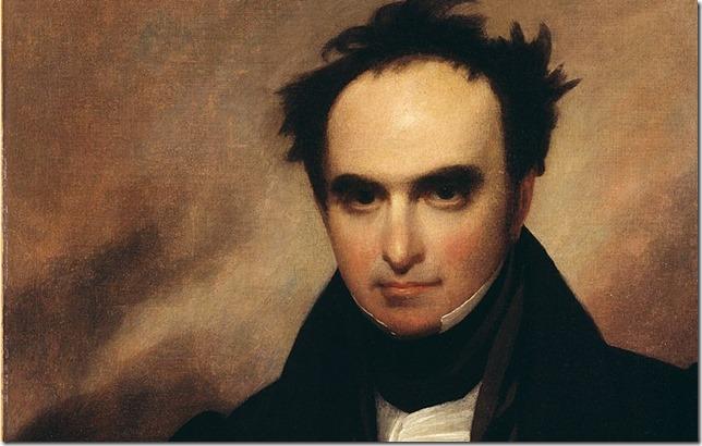 Webster Black Dan Portrait of Daniel Webster by Francis Alexander 1835 National Portrait Gallery via Wikipedia