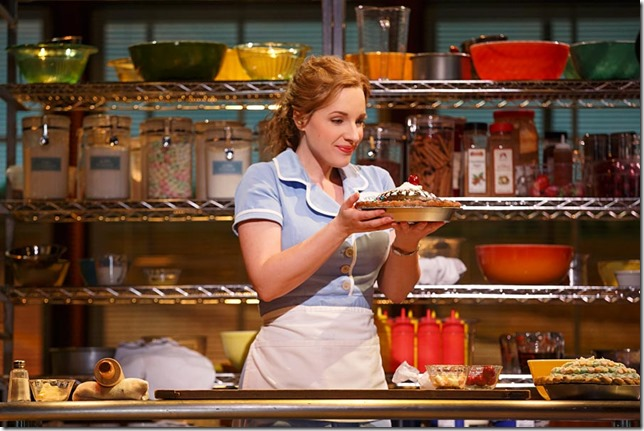 Waitress the Musical Jessie Mueller photo by Joan Marcus courtesy Waitress website