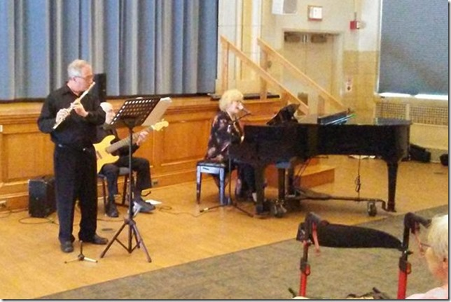 2018 06 24 Jazz at the Rehab Pallisades JCC Jazz Ensemble