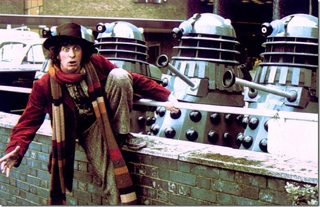 Doctor Who Tom Baker Fourth Doctor Doctor and Dalleks