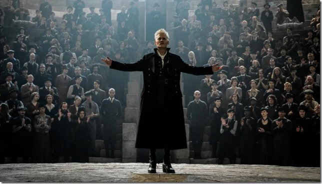 Fantasic Beasts 2 Grindelwald rallies his followers
