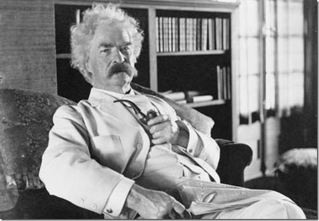 Twain Mark Twain via Britannica