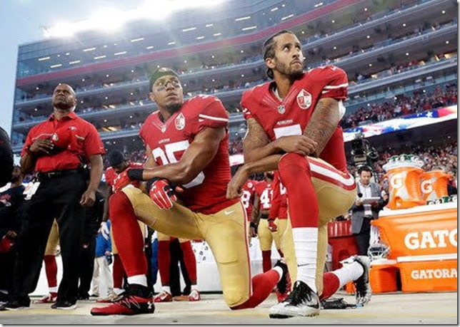 NFL Kaepernick Photo by Marcio Jose Sanchez AP 2016 via the NY Times