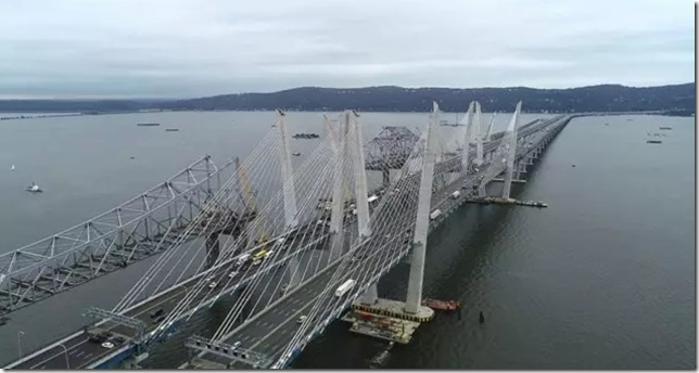 Tappan Zee Bridge Old and New Bridges Andrew Cuomo Flickr