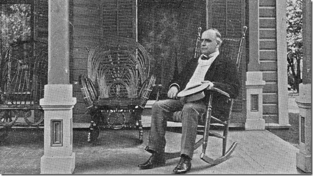McKinley campaigning from his front porch via Politico