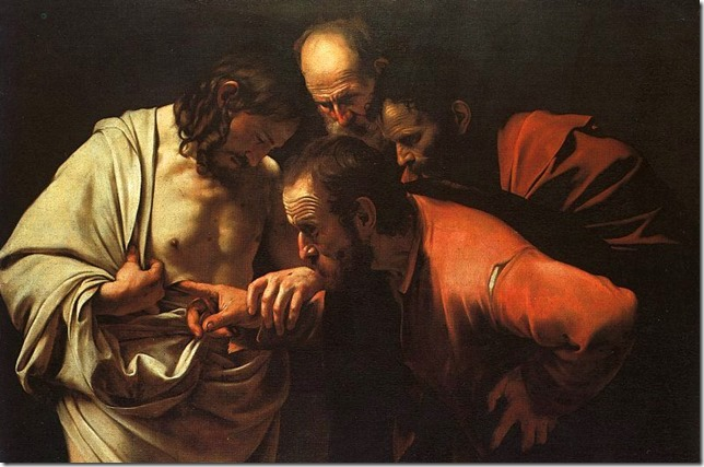 Bible Painting Caravaggio Incredulity of St Thomas Wikipedia