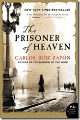 Cover Prisoner of Heaven Zafron Ruiz