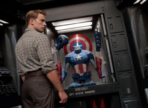 Avengers First Cap contemplates his past