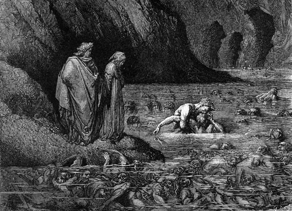 Dante Inferno Canto 32 Dore