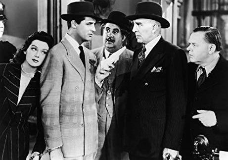 His Girl Friday 2 Last man to say that was Archie Leach Roz Russell Cary Grant Billy Gilbert Clarence Kold Gene Lockhart