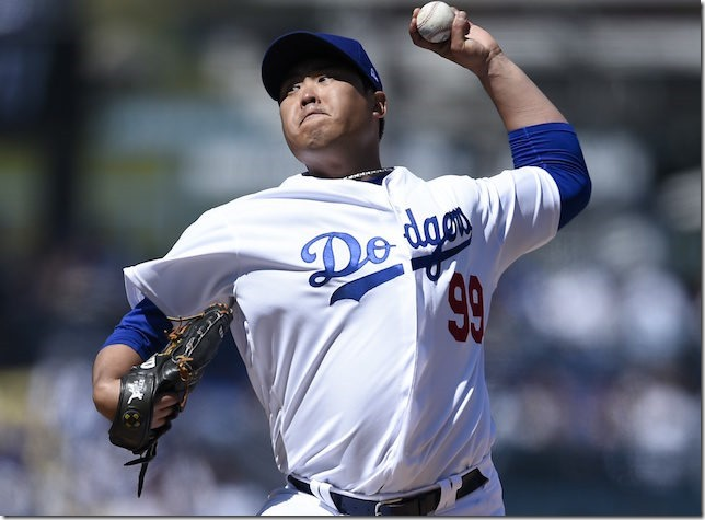MLB Dodgers 2019 03 28 Hyun Jin Ryu Opening Day start Kelvin Kuo USA TODAY Sports via Dodger Blue