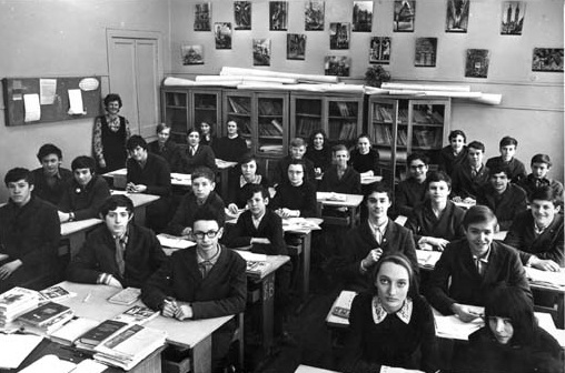 Soviet Union 8th Grade Class uncredited at various sites 2