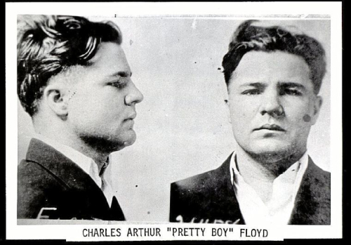Public Enemies Pretty Boy Floyd mug shots