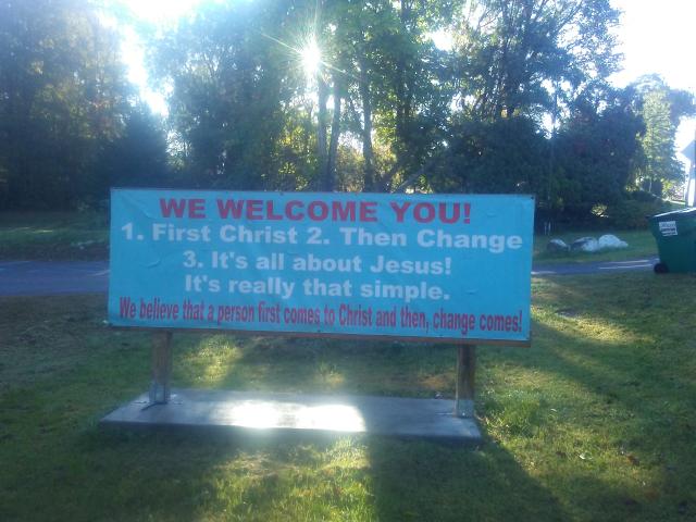 2019 10 04 Garage Church 07 We Welcome You